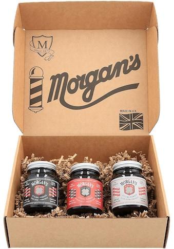 """Morgan's Haarstyling - Set """"Pomade Gift Set"""", 3 - tlg., 3 Pomaden für jeden Haarstyle kaufen"""