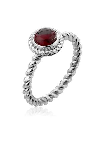 Nenalina Fingerring »Granat Geburtsstein Januar Trend Edel 925 Silber« kaufen