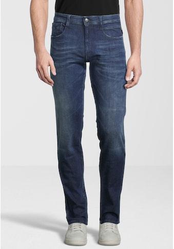 Replay Slim-fit-Jeans »Anbass«, mit Label-Applikationen kaufen