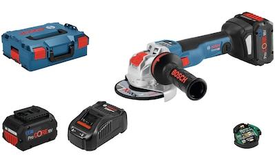 Bosch Professional Akku-Winkelschleifer »GWX 18V-10 SC (2x 8.0Ah, GAL 1880« kaufen