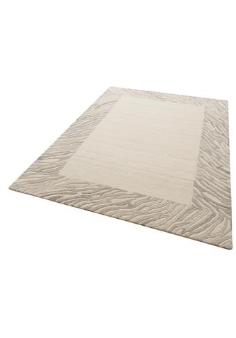 Theko Exklusiv Wollteppich »Kübra«, rechteckig, 14 mm Höhe, reine Wolle, mit Bordüre, Wohnzimmer kaufen