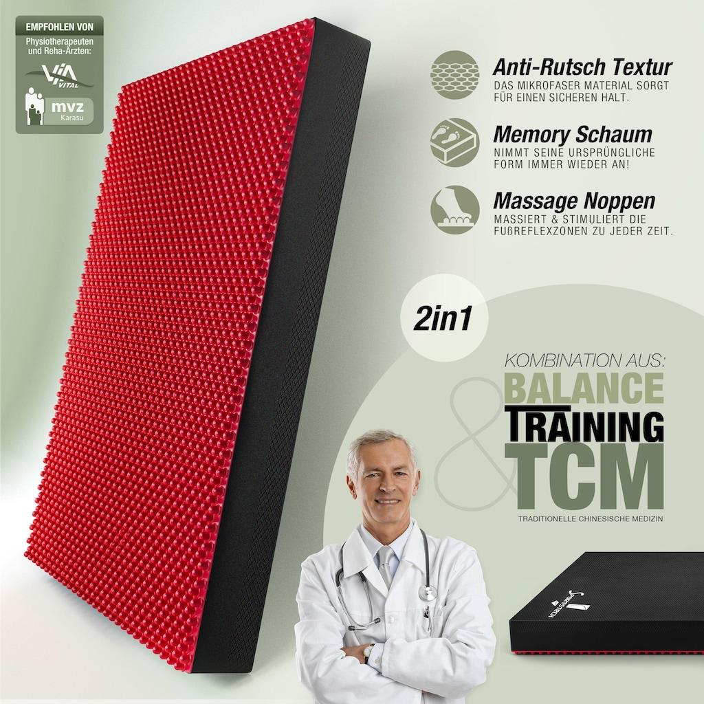 Sportstech Balancekissen »BPX100«, Akupressur Noppen, Memoryschaum