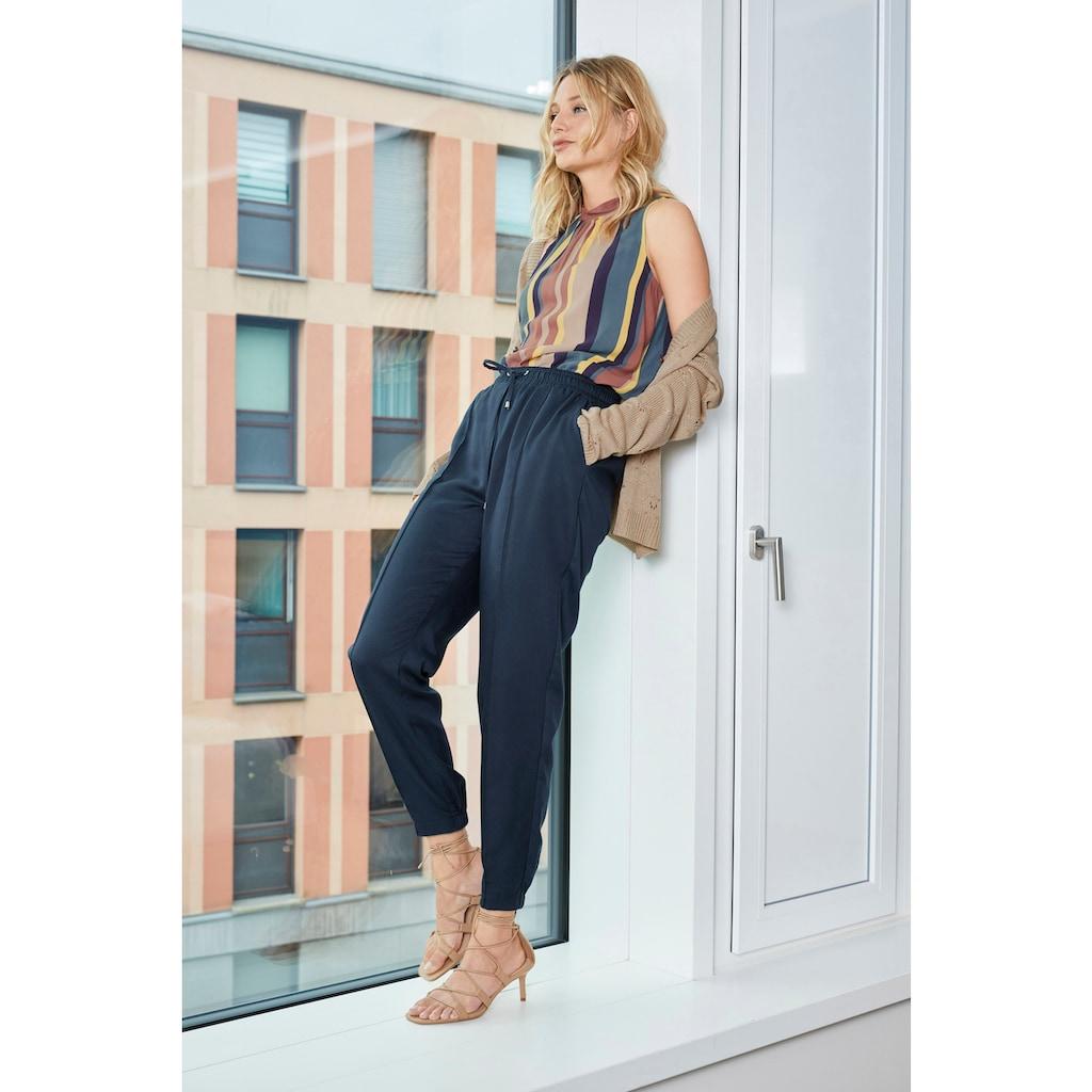 Aniston CASUAL Schlupfhose, mit Bundfalte - NEUE KOLLEKTION