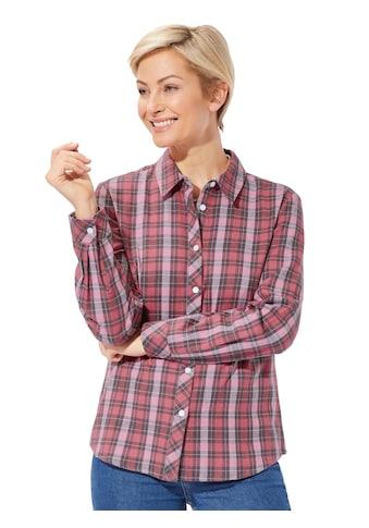 Classic Basics Bluse aus wärmendem Flanell kaufen