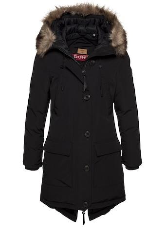 Superdry Winterjacke »ROOKIE DOWN PARKA«, Winterparka mit geschnürtem Gehschlitz an der Rückseite kaufen
