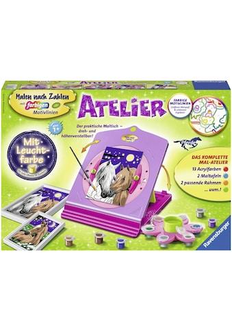 """Ravensburger Malen nach Zahlen """"Atelier Pferde"""" kaufen"""
