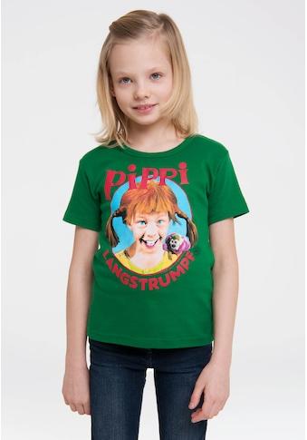 LOGOSHIRT T-Shirt, mit coolem Pippi Langstrumpf-Print kaufen