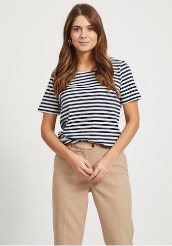 Vila T-Shirt »VISUS«, in Baumwolle kaufen