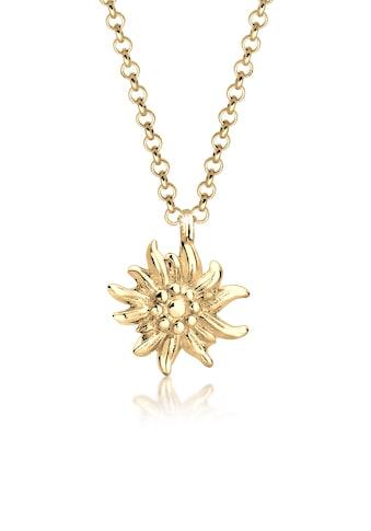 Elli Collierkettchen »Edelweiss Symbol Anhänger Wiesn Tracht 925 Silber« kaufen