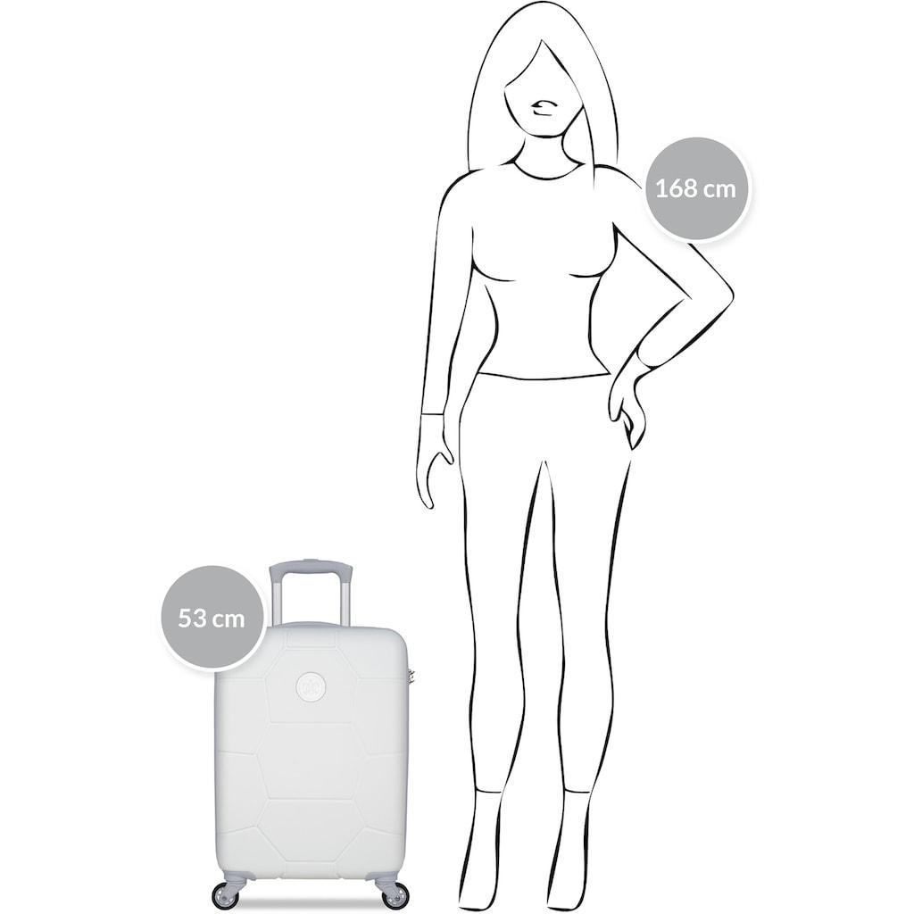 """suitsuit Hartschalen-Trolley """"Caretta, 55 cm"""", 4 Rollen"""