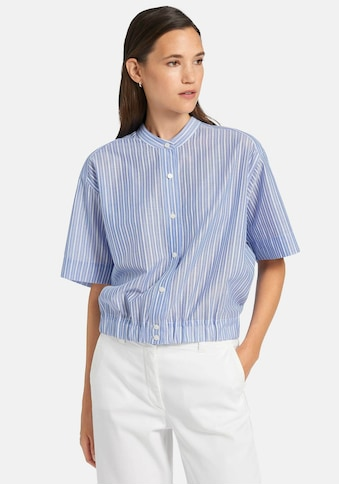 Uta Raasch Kurzarmbluse »Bluse mit 1/2-Arm«, und Stehkragen kaufen