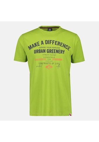 LERROS T-Shirt »Make a difference«, mit Brustprint kaufen