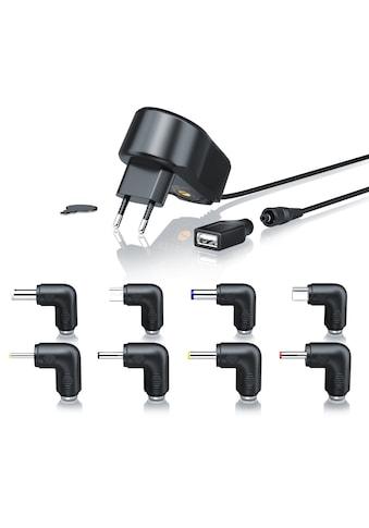 Aplic Universal Netzteil mit 9 verschiedenen Adapter Aufsätzen kaufen