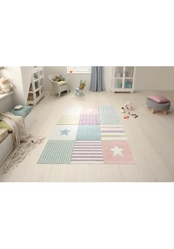 Kinderteppich, »Stern«, Lüttenhütt, rechteckig, Höhe 13 mm, maschinell gewebt kaufen