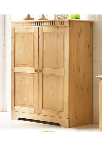 Home affaire Kommode »Cubrix«, aus schönem massivem Kiefernholz, Höhe 100 cm kaufen