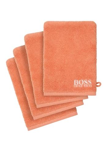 Hugo Boss Home Waschlappen »PLAIN 4-tlg.« kaufen