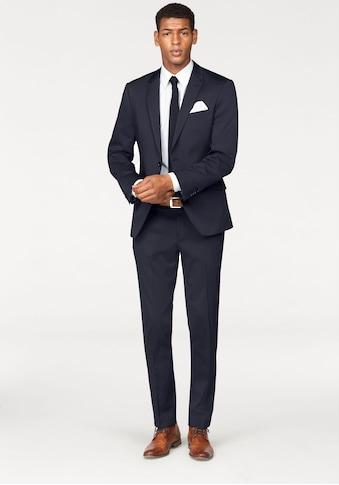 Bruno Banani Anzug (Set, 4 tlg., mit Krawatte und Einstecktuch) kaufen