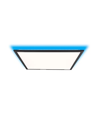 Brilliant Leuchten Deckenleuchten, Allie LED Deckenaufbau-Paneel 60x60cm sand schwarz kaufen