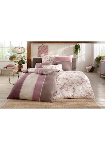 BIERBAUM Bettwäsche »Alina«, mit gemusterten Streifen kaufen