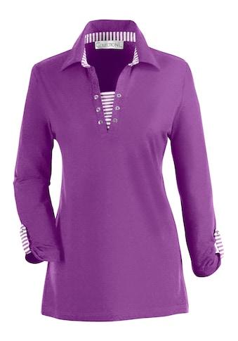 Casual Looks  Shirt mit gekrempelten 3/4 - Ärmeln kaufen