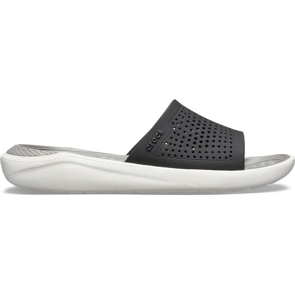 Crocs Pantolette »Lite Ride Slide«, ein Leichtgewicht am Fuß