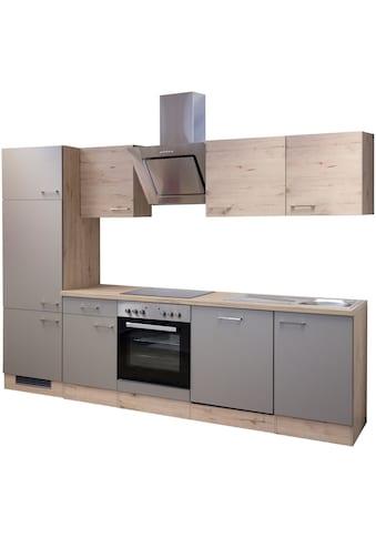 Flex-Well Küchenzeile »Riva«, mit E-Geräten, Breite 280 cm kaufen