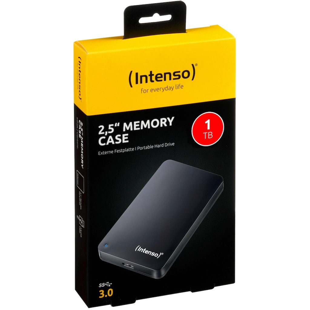 Intenso externe HDD-Festplatte »Memory Case«