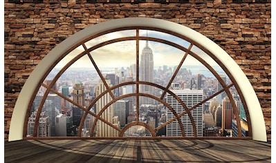 Consalnet Vliestapete »New York Fensterblick«, verschiedene Motivgrößen, für das Büro... kaufen