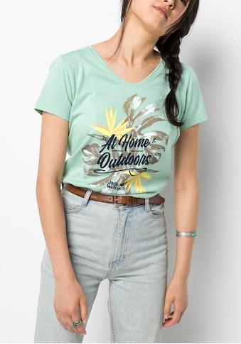 Jack Wolfskin T-Shirt »AT HOME T W« kaufen