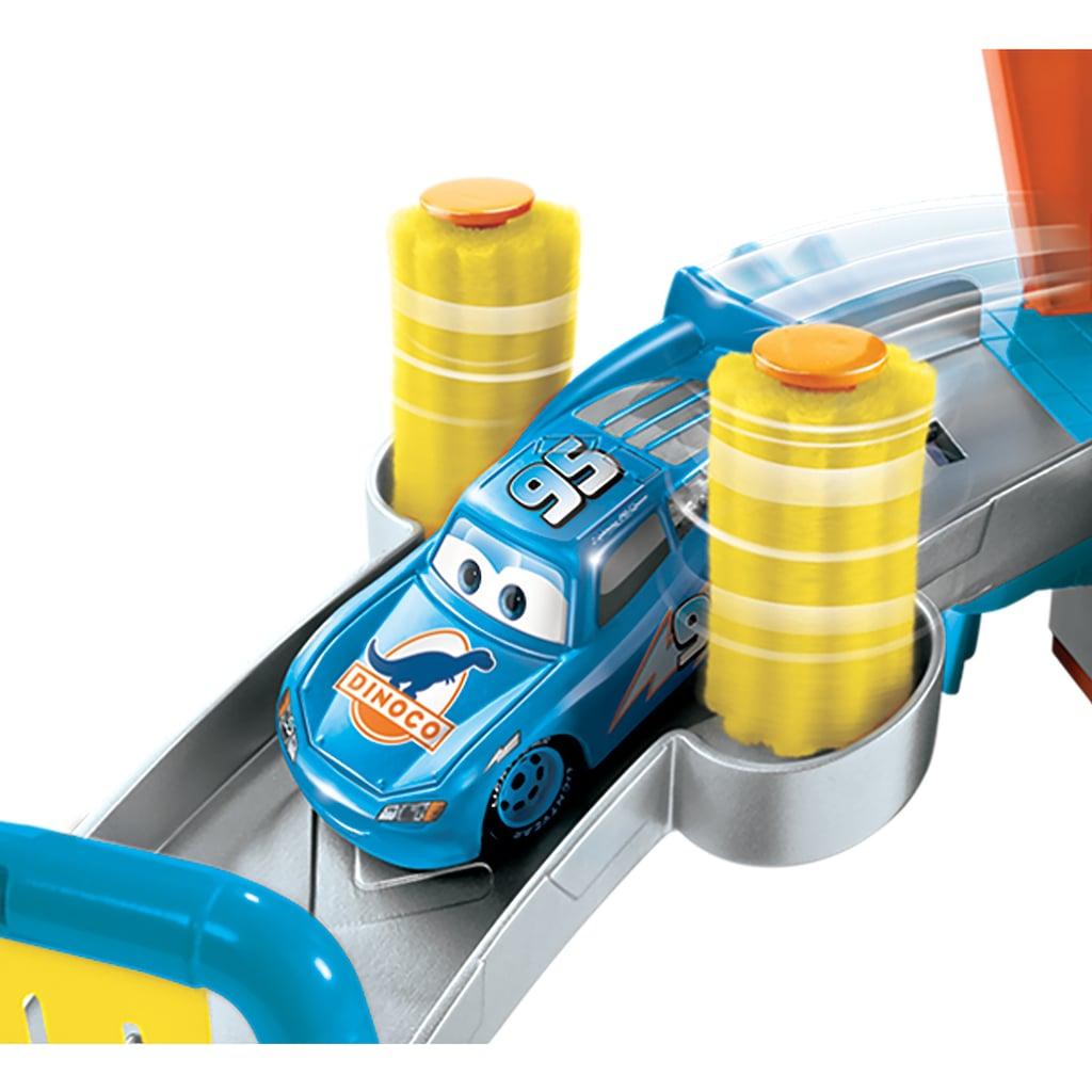 Mattel® Spiel-Gebäude »Disney Pixar Cars, Farbwechsel Dinoco Autowaschanlage«, inkl. Fahrzeug mit Farbwechseleffekt
