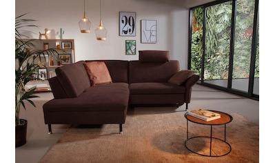 ADA trendline Ecksofa »Janis«, inkl. Sitztiefenverstellung und Kopfstütze kaufen
