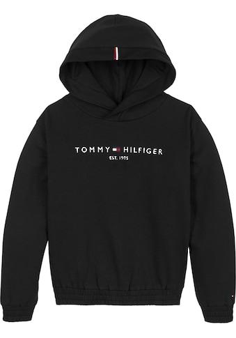 TOMMY HILFIGER Kapuzensweatshirt »ESSENTIAL HOODED SWEATSHIRT« kaufen
