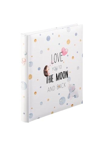"""Hama Fotoalbum »Foto Album«, """"To The Moon"""", 29x32 cm, 60 weiße Seiten kaufen"""