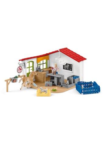 """Schleich® Spielfigur """"Farm World, Tierarzt - Praxis mit Haustieren (42502)"""", (Set) kaufen"""