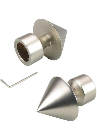 Liedeco Gardinenstangen-Endstück »Kegel mit Rohraufnahme«, für Gardinenstangen Ø 16 mm kaufen