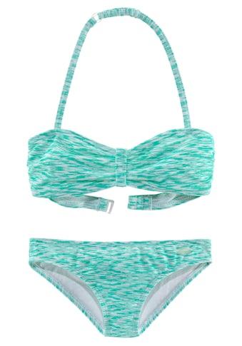Venice Beach Bandeau-Bikini, in Melange-Optik kaufen