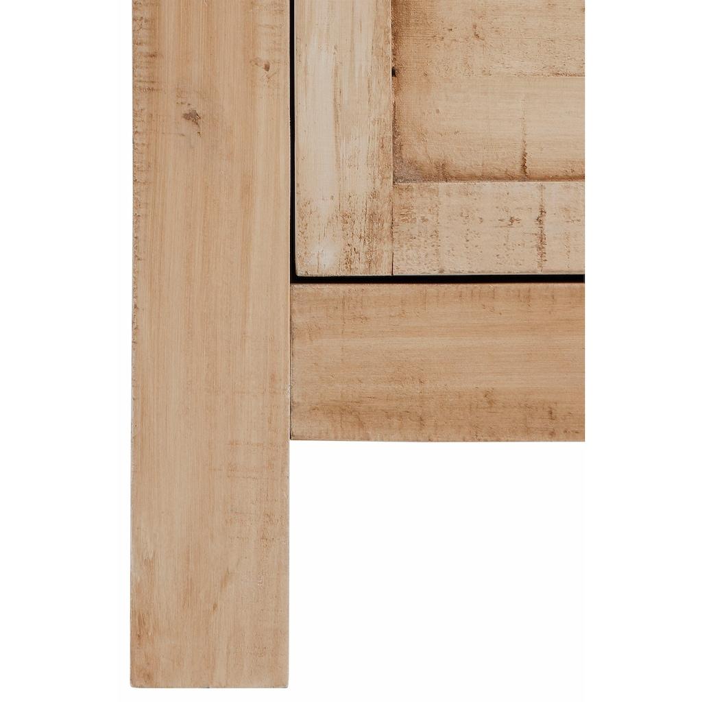 Home affaire Schuhkommode »Molly«, aus massiver Kiefer, Breite 120 cm