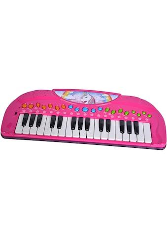 SIMBA Spielzeug-Musikinstrument »My Music World Girls, Einhorn Keyboard« kaufen