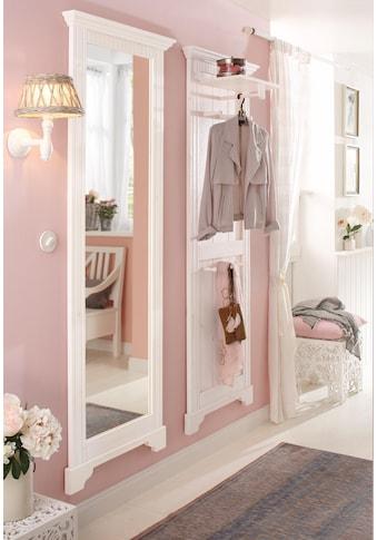 Home affaire Garderobenpaneel »Rustic«, aus massiver Kiefer, 64 cm breit kaufen