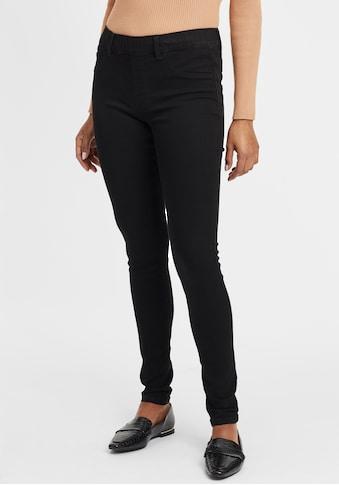 OXMO Jeansleggings »Gesine«, Stretch Hose Jeggings mit angedeuteten Taschen kaufen