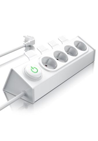BEARWARE 4-fach Steckdosenleiste mit Auswurfautomatik kaufen