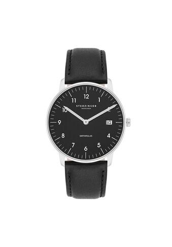 Sterzinger Quarzuhr »SM014«, (1 tlg.), Echtleder-Armband, Made in Italy kaufen