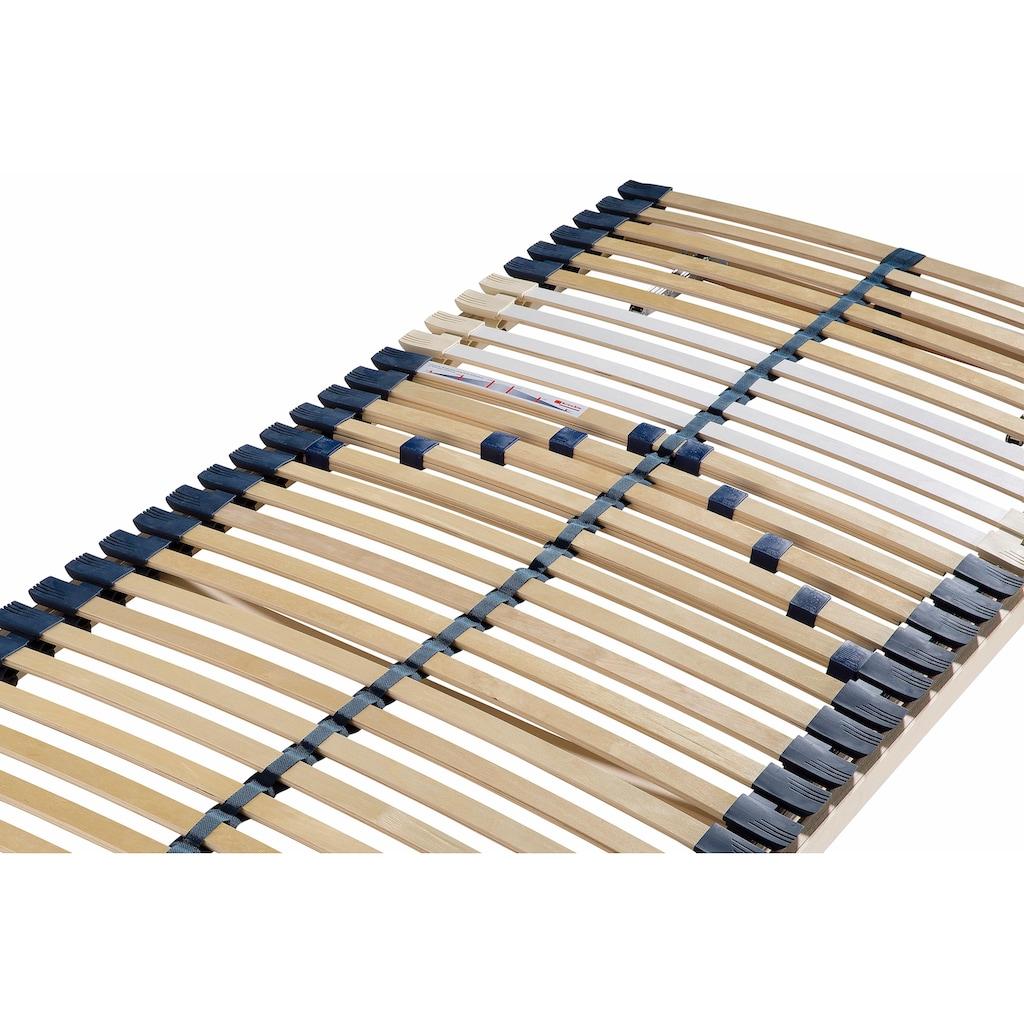 Breckle Lattenrost »Manao Fix 30 Leisten«, 30 Leisten, Kopfteil manuell verstellbar