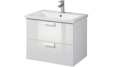 WELLTIME Waschtisch »Italy«, Premium Waschplatz - Set, Breite 61 cm, (2 - tlg.) kaufen