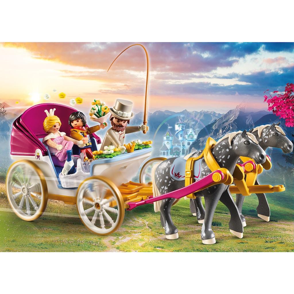 Playmobil® Konstruktions-Spielset »Romantische Pferdekutsche (70449), Princess«, (60 St.), Made in Germany