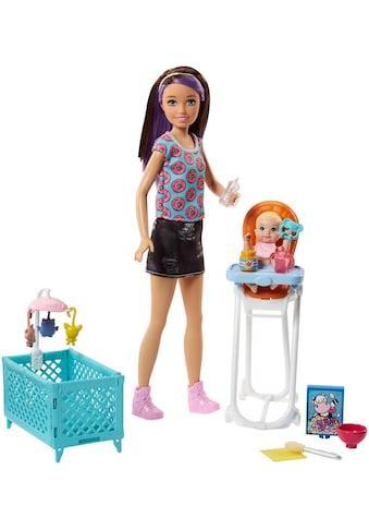 """Mattel® Anziehpuppe """"Barbie Skipper Babysitter Spielset mit Hochstuhl"""" (3 - tlg.) kaufen"""