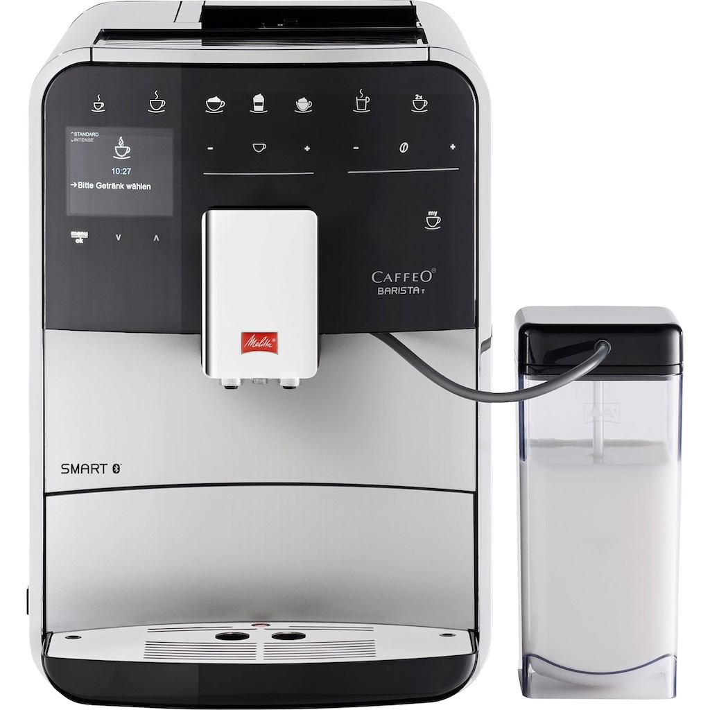 Melitta Kaffeevollautomat »Barista T Smart F 83/0-101, silberfarben«