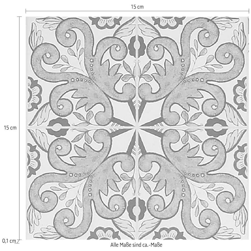 queence Fliesenaufkleber »Muster I«