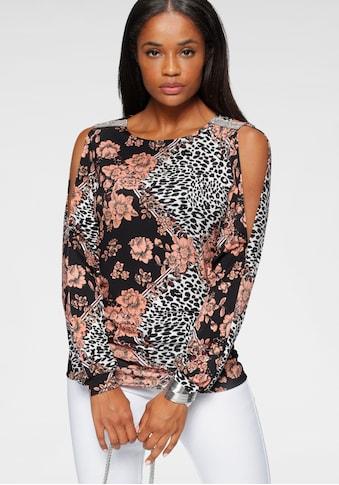 Melrose Langarmshirt, mit Strassdetail kaufen