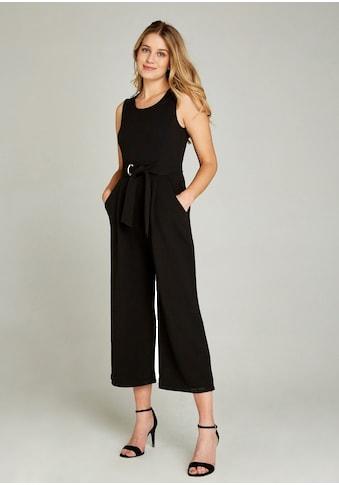 Apricot Jumpsuit »Culotte Jumpsuit with Tie Waist«, mit Taillengürtel kaufen